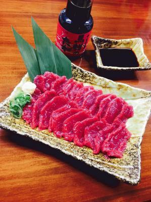 大阪馬肉屋 特選赤身100g
